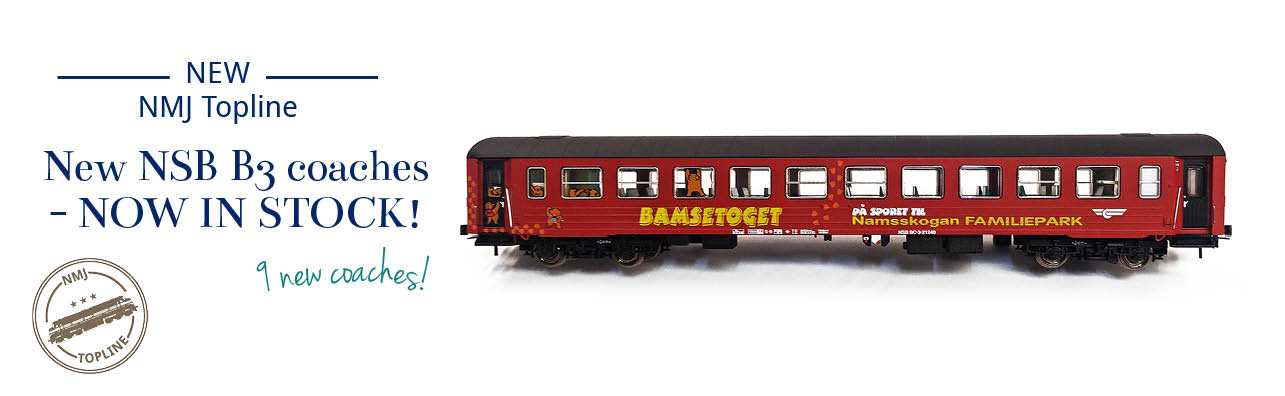 NMJ Topline B3 series coaches now in stock - NMJ Topline 101.103, 101.104, 101.303, 101.304, 106.304, 106.305, 106.306, 110.302 and 110.303