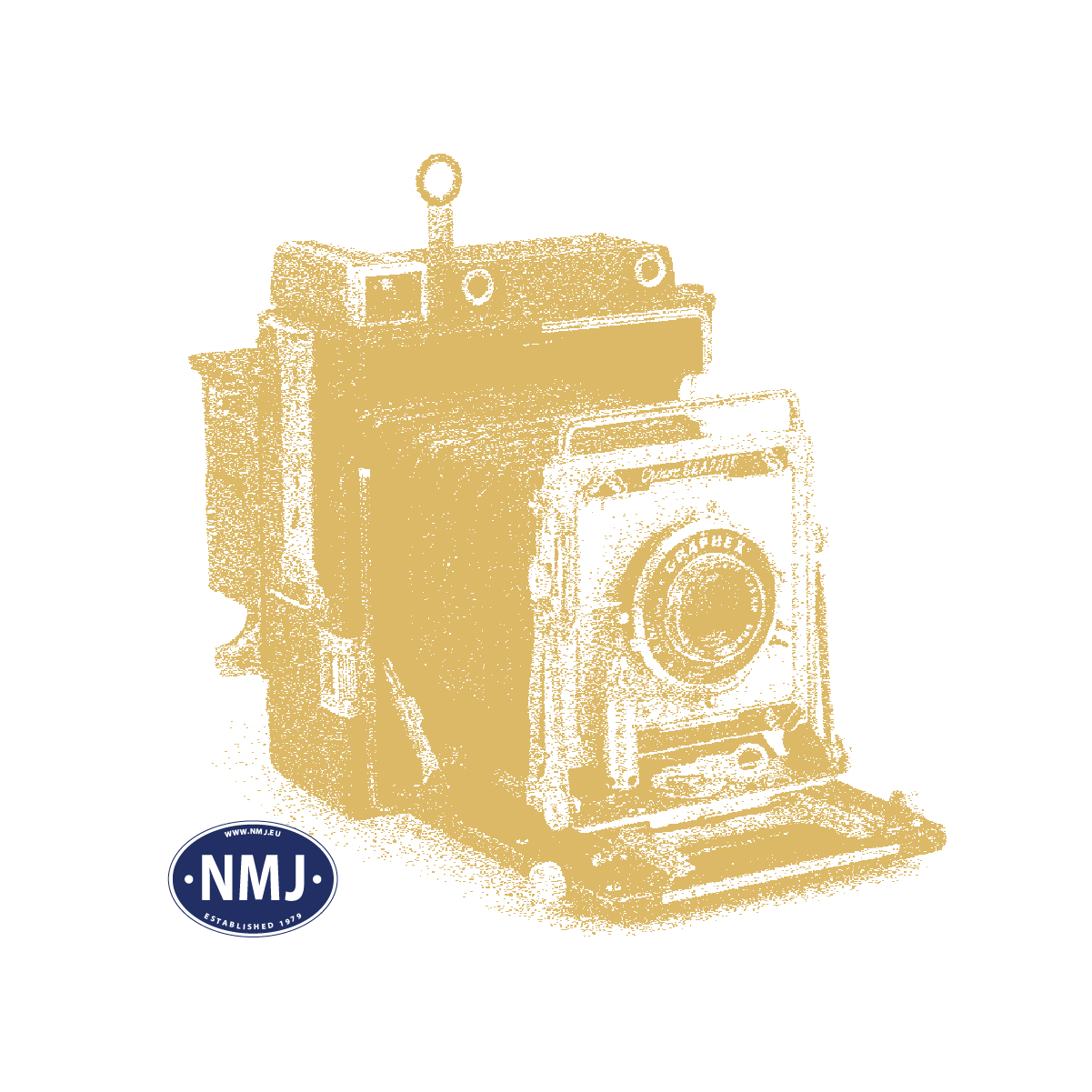NMJT204.002 - NMJ Topline SJ B1.4816, 2 Cl. Passenger coach, old SJ logo