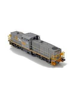 Topline Lokomotiver, NMJ Topline of CargoNet Di8.702 in the silver/yellow livery, DC. , NMJT85.201