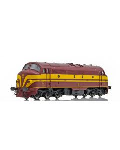 Topline Lokomotiver, NMJ Topline model of the CFL 1603 early versiion from 1956-1971, AC DIGITAL , NMJT95302