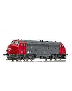 Topline Lokomotiver, NMJ Topline model of the DSB MY 1112 in the red/black livery from 1984.   , NMJT90102