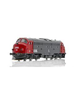 Topline Lokomotiver, NMJ Topline model of the DSB MY 1148 in the red/black livery., NMJT90103