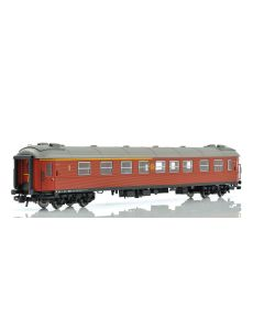 Topline Personvogner, NMJ Topline Model of the SJ AB3 in the brown livery with the old SJ logo after 2000.., NMJT203.002