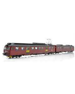 Topline Lokomotiver, NMJ Topline model of the NSB BM69.15 in the red/black livery with yellow season ticket markings. , NMJT84.202