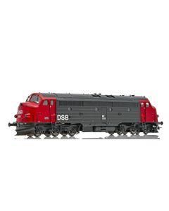 Topline Lokomotiver, NMJ Topline model of the DSB MY 1135 in the red/black livery from 1984. DC version., NMJT90104