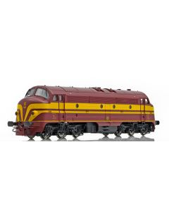 Topline Lokomotiver, NMJ Topline model of the CFL 1601 early versiion from 1956-1971, AC DIGITAL, TESTWINNER. , NMJT95304
