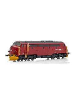 Topline Lokomotiver, NMJ Topline model of the NSB Di 3.621 in the red/black livery. DCC digital with sound - ESU Loksound V4 M4., NMJT90004