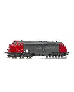 Topline Lokomotiver, NMJ Topline model of the DSB MY 1112, digital Sound version in the red/black livery from 1984-, NMJT90102