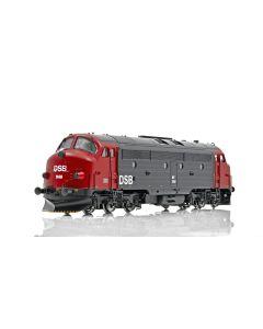 Topline Lokomotiver, NMJ Topline model of the DSB MY 1148 in the red/black livery. DCC digital with sound - ESU Loksound V4 M4., NMJT90103