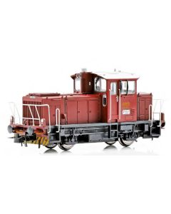 Topline Lokomotiver, New improved SUPERVERSION of the NSB SKd 224.223 DCC digital version with new improved Main PCB with built-in Decoder, Kondensator, with exits for automatic couplers and metal gears,  makes this the perfect shunting tractor., NMJT83.1