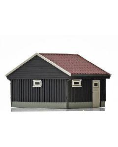 Skyline Ready Made, nmj-skyline-norwegian-garage-brown-white, NMJH15120