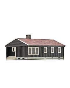 Skyline Ready Made, nmj-skyline-15117-norwegian-villa-brown-white, NMJH15117