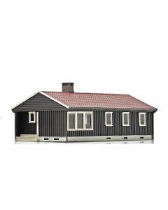 Skyline Ready Made, nmj-skyline-15117-norwegian-villa-brown-white, NMJH15117