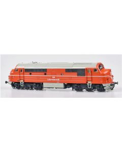 Lokomotiver Danske, dekas-dk-h0-l0003dl-lj-lollandsbanen-nohab-mx-m34-dcc, DK-H0-L0003DL
