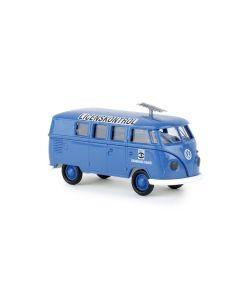 Personbiler, brekina-31591-volkswagen-t1b-kombi-danmarks-radio-licenskontrol, BRE31591