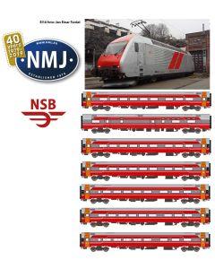 Lokomotiver Norske, nmj-exclusive-asm-nsb-el18-b7-dc, NMJE89904