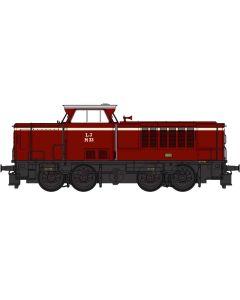Lokomotiver Danske, heljan-21511-lj-lollandsbanen-mak-m33-dcc, HEL21511
