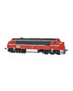 Lokomotiver Danske, dekas-dk-8750044-odsherredbanen-ohj-mx-101-dcc, DK-8750044