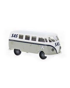 Personbiler, brekina-31611-vw-volkswagen-t1b-kombi-sas-norsk-bil-h0, BRE31611