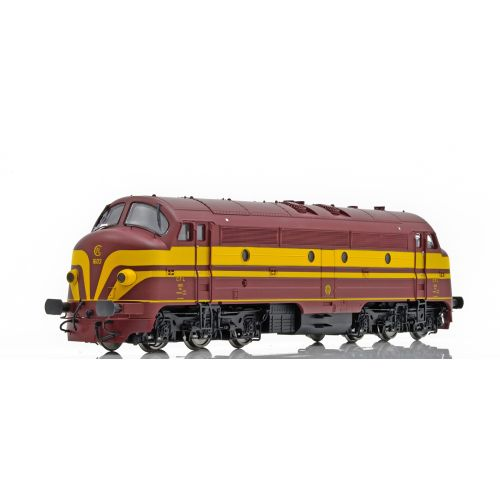 Topline Lokomotiver, NMJ Topline model of the CFL 1603 from the periode from 1956 to 1971 with the old CFL logo., NMJT90302