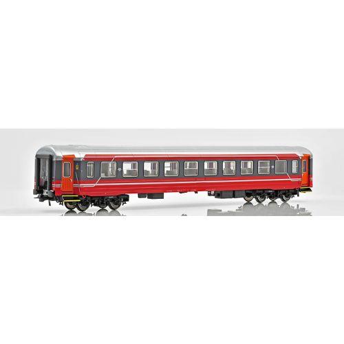 Topline Personvogner, NMJ Topline model of the NSB B3-6 25651, 2nd class passenger coach in NSB`s latest design., NMJT106.501