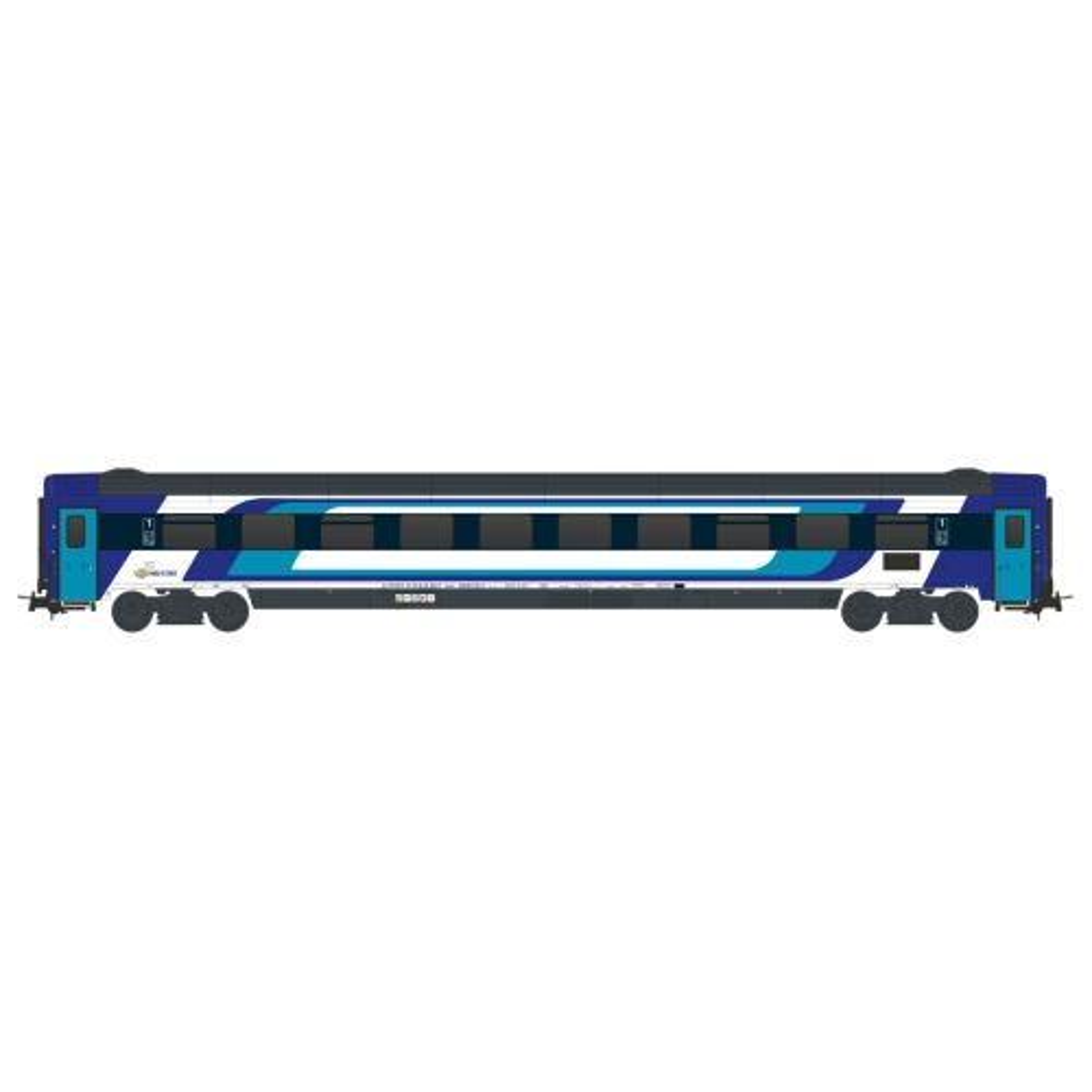 Topline Personvogner, NMJT401.104-MAV-Apmz-61 55 10-91 107-1-1Cl- Passenger coach-new design, NMJT401.104