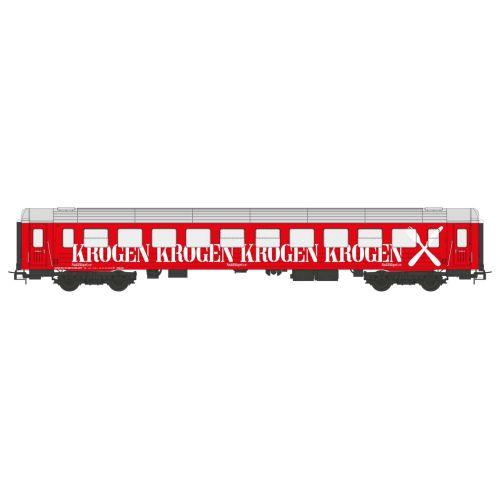 Topline Personvogner, NMJ-Topline-106.902-Snälltåget-Restaurant-ca- R7-5634-KROGEN-Red-H0 version, NMJT106.902